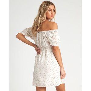 Billabong White Floral Dress